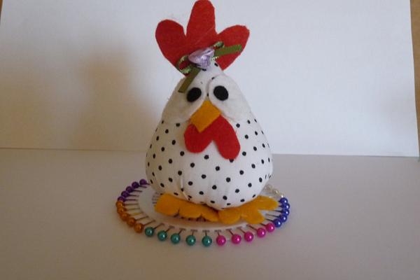 alfineteiro de galinha