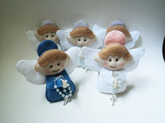 lembranças escolares fim de ano anjo de feltro