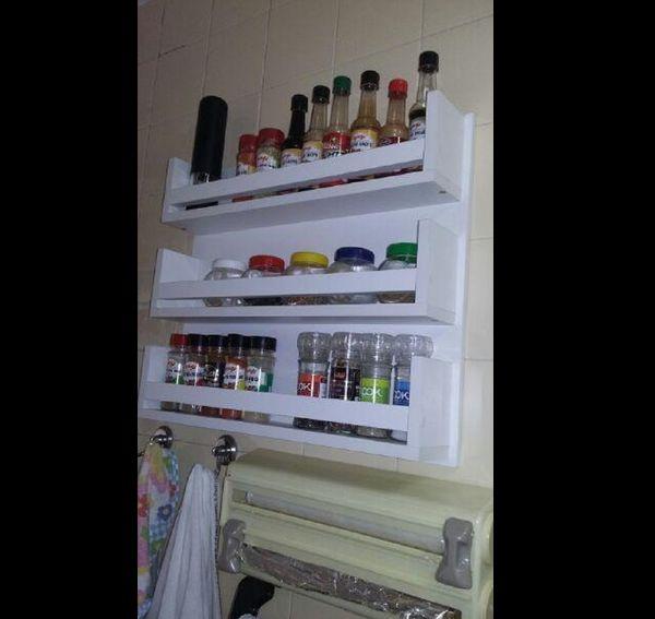 porta condimentos branco
