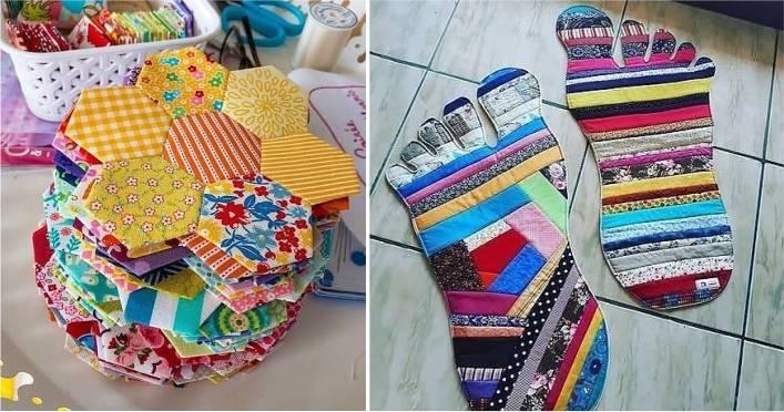 artesanato retalhos tecido