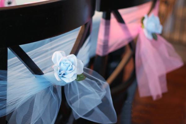 artesanato com tule com flor artificial