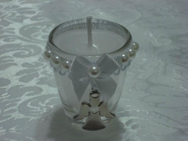 copo de vidro decorado com pingente