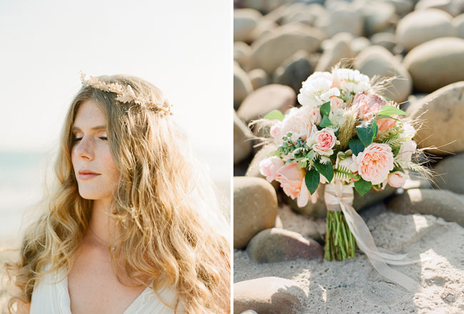 tiara com flor fininha