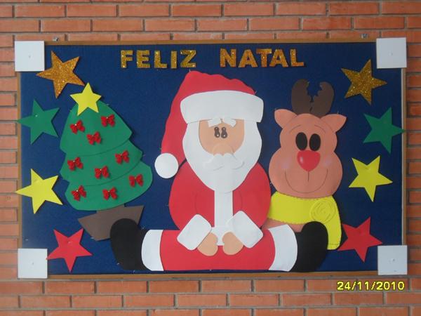 Painel De Natal Para Escola 20 Ideias Artesanato Passo A Passo