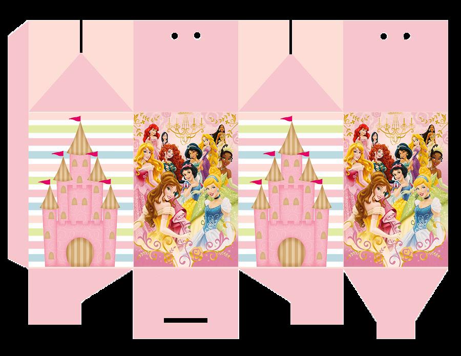 caixinha milk princesas