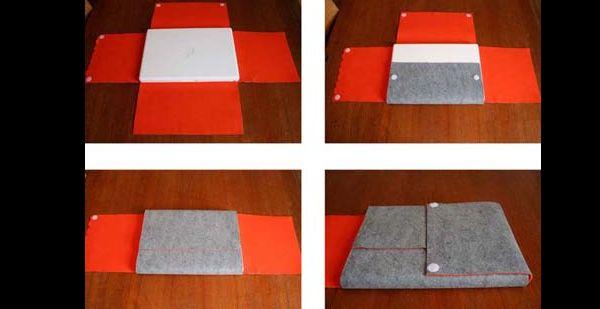case para notebook de tecido