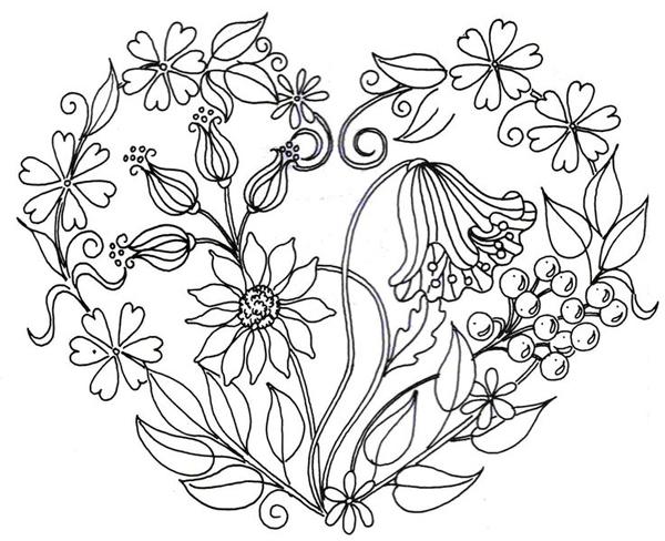 desenhos de flor bonitos