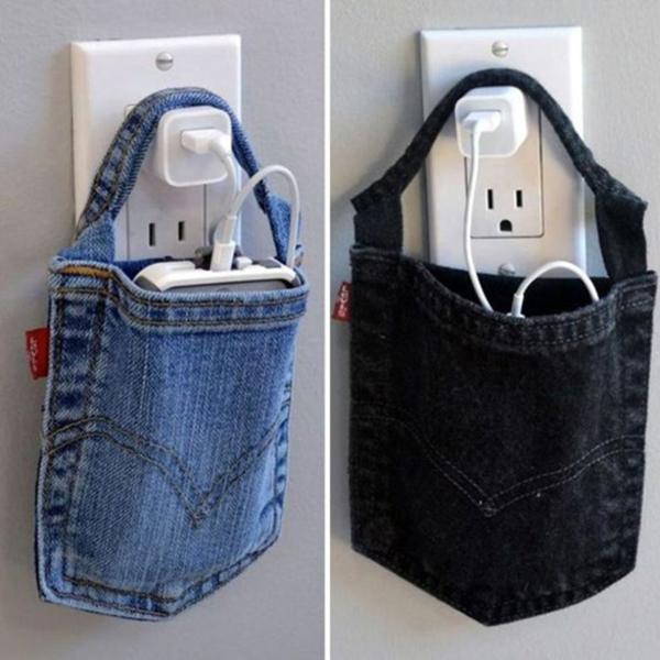 porta carregador jeans