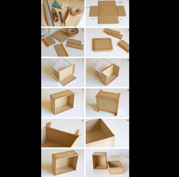 caixa em papelão