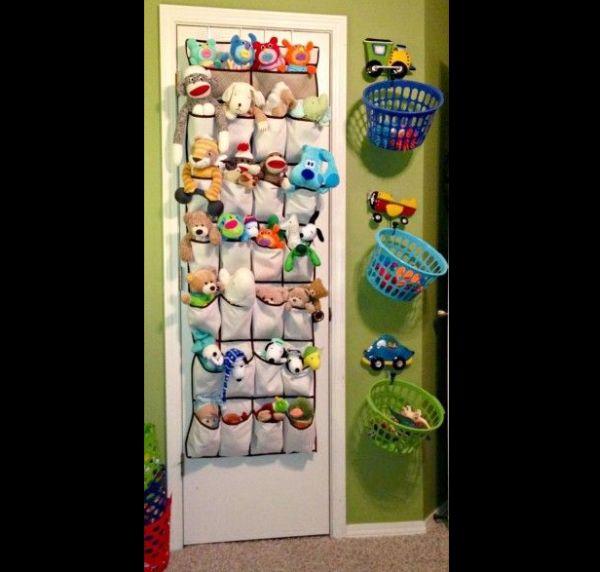 organizador para brinquedos plastico