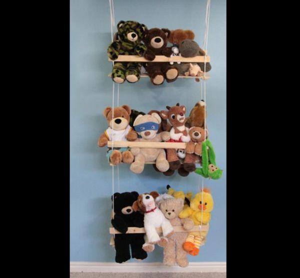 organizador para brinquedos prateleria