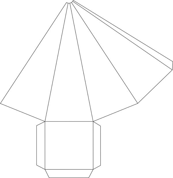 15 Ideias De Como Fazer Cone De Papel Artesanato Passo A Passo