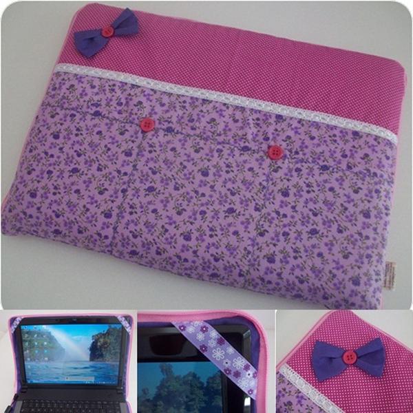 case para notebook com ziper