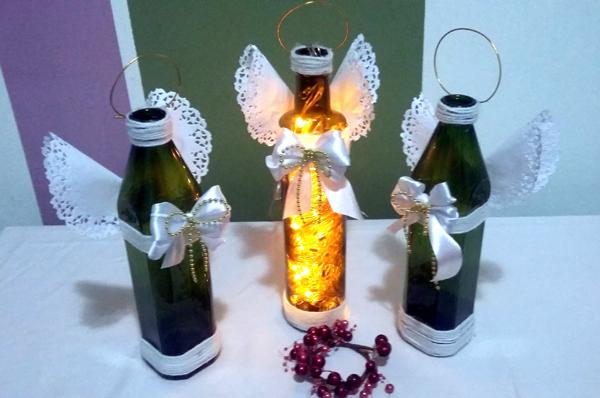 lembrança de natal anjo