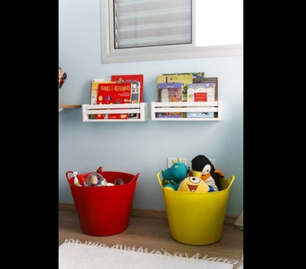 organizador para brinquedos cesto