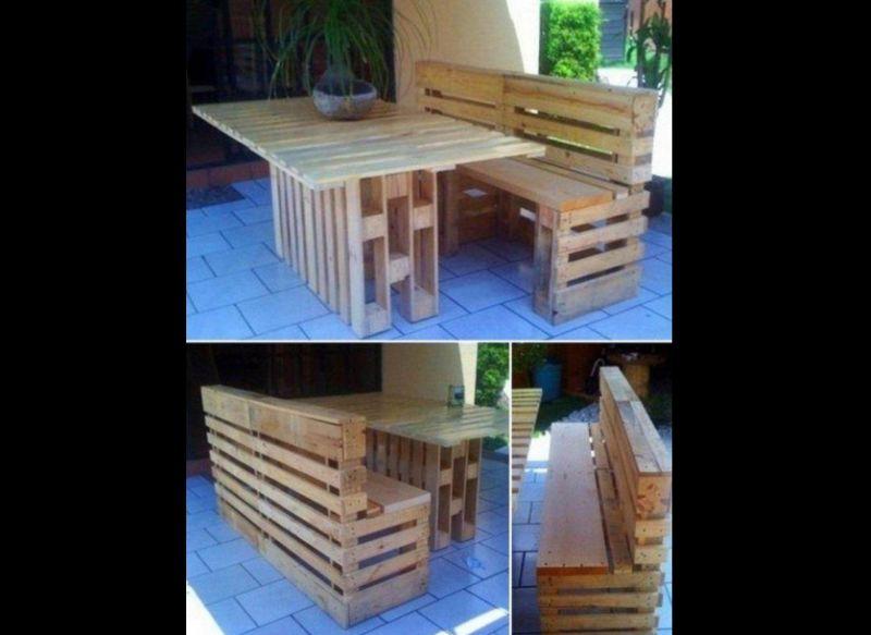 mesa com madeira original