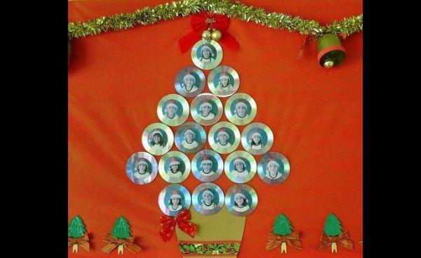 painel escolar de Natal com cd