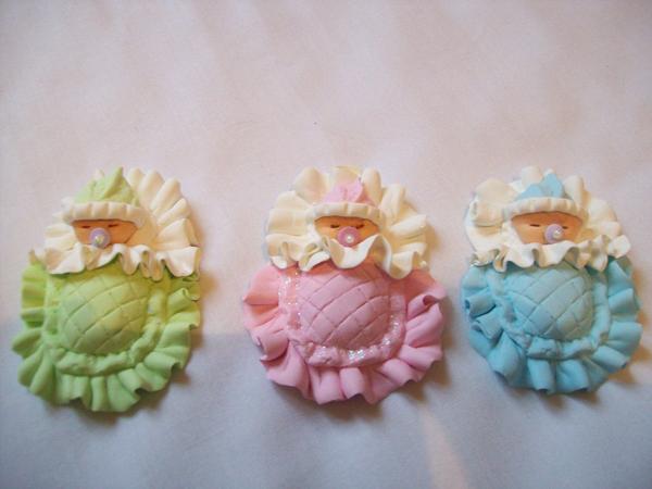 lembrancinha para maternidade biscuit