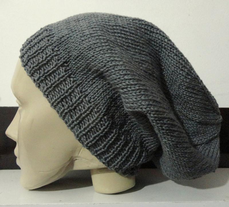 boina em tricô para homens