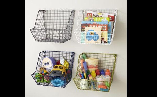 organizador para brinquedos cestinha