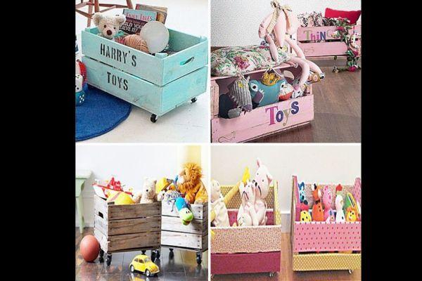 organizador para brinquedos variados