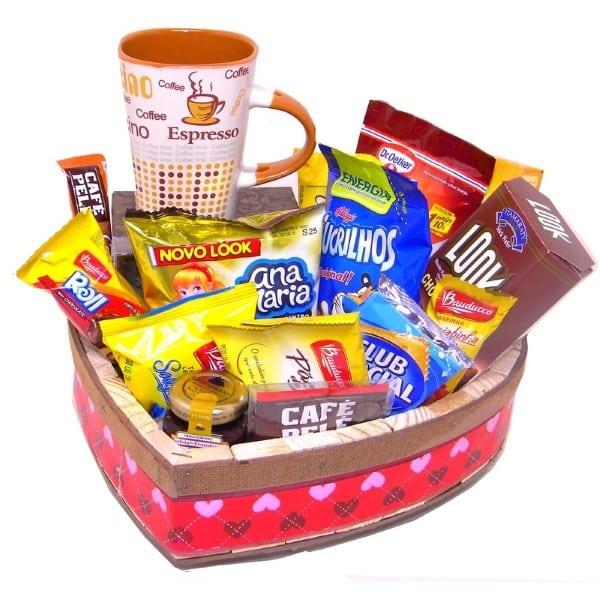 cesta para namorados