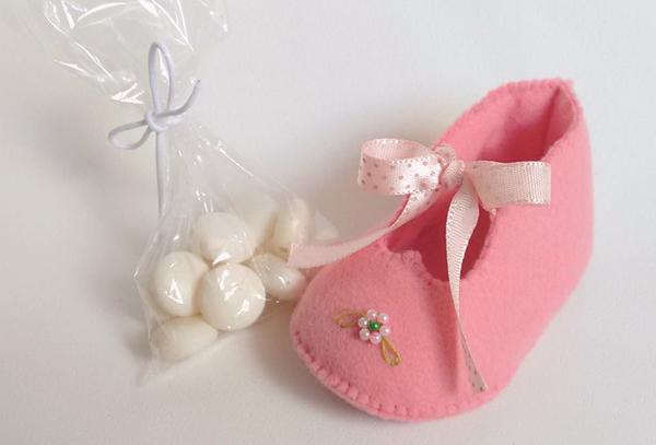 lembrancinha para maternidade sapatinho