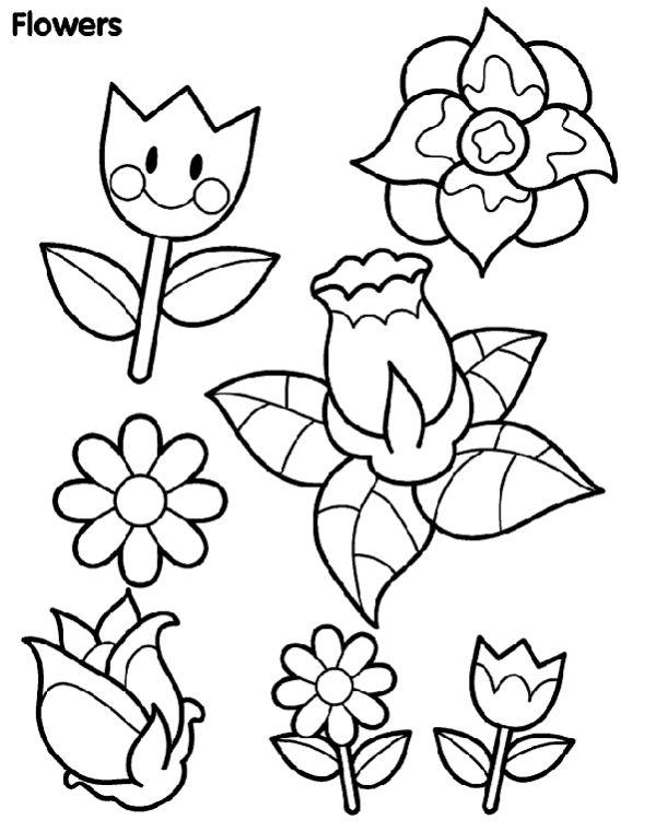 desenhos de flor com carinha