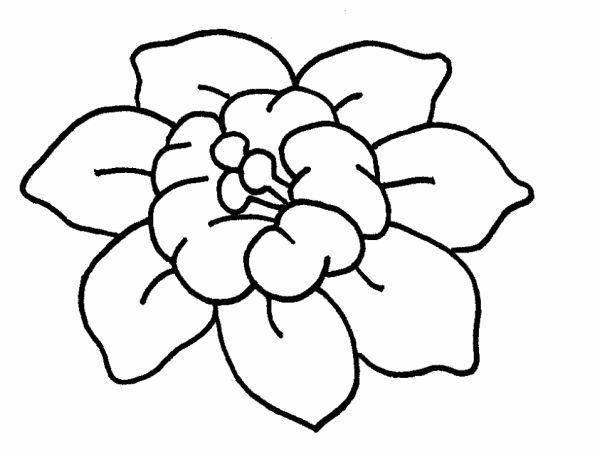 desenhos de flor facinha