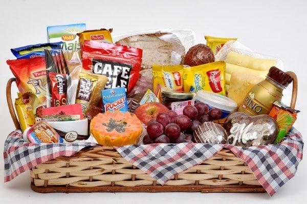 Itens para Cesta Café da Manhã