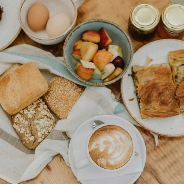 cafe da manhã especial