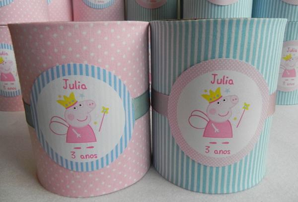 lembrancinha de lata de leite com tecido
