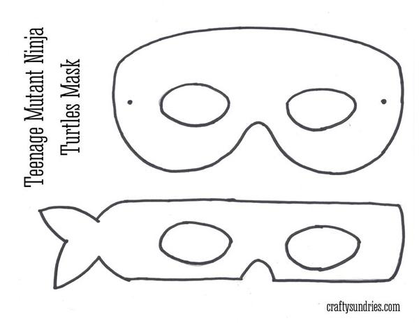 super herois em feltro mascara tartaruga ninja