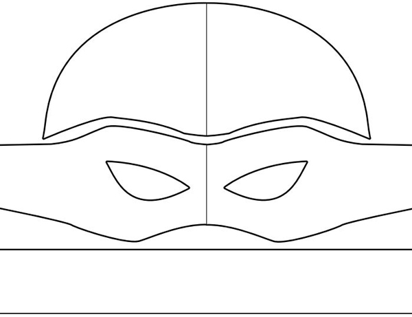 super herois em feltro mascara