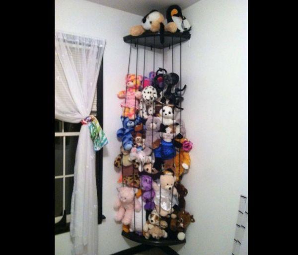 organizador para brinquedos com elastico