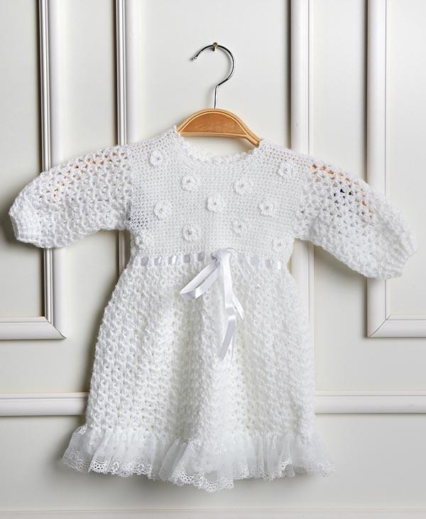 vestido de croche infantil receitas