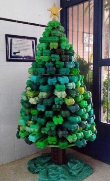 árvore natalina tutorial
