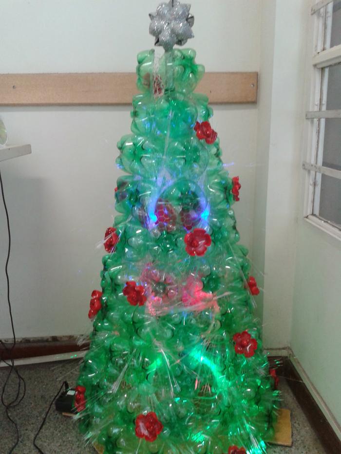 árvore natalina de como fazer