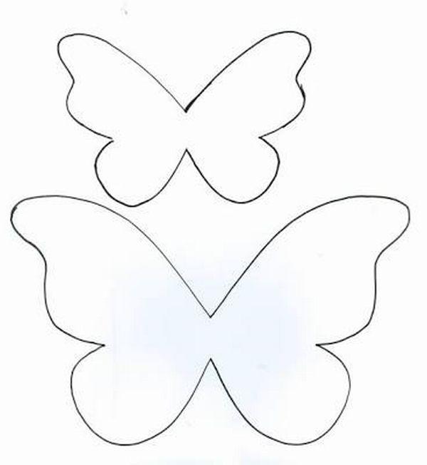 borboleta de papel comum