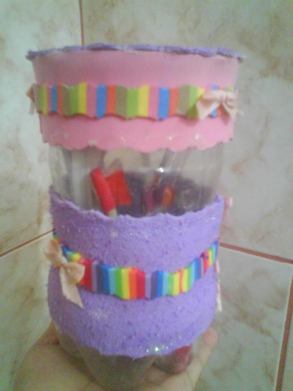 porta escova de dente colorido