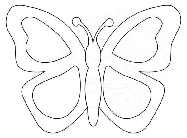 borboleta de papel colorida