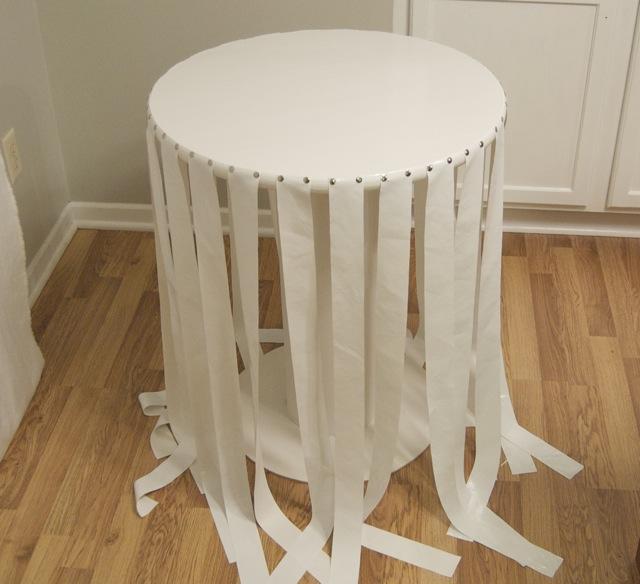 mesa com papelão como fazer