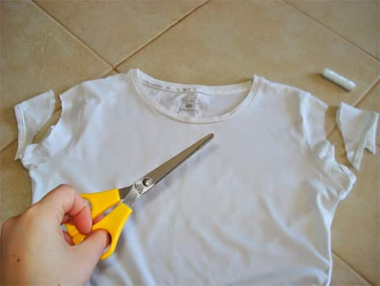 Cortar e customizar Passo a passo camiseta