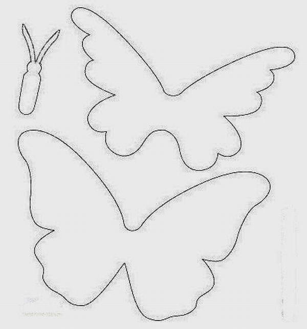 borboleta de papel simples
