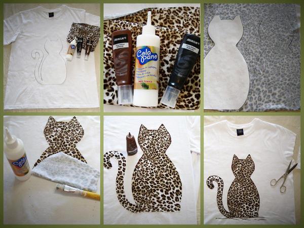 customização de camisetas onça