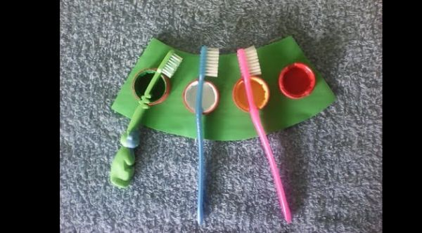 porta escova de dente eva
