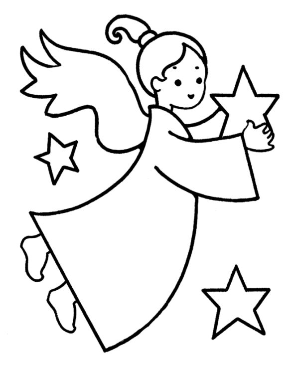 simbolos de natal anjinho