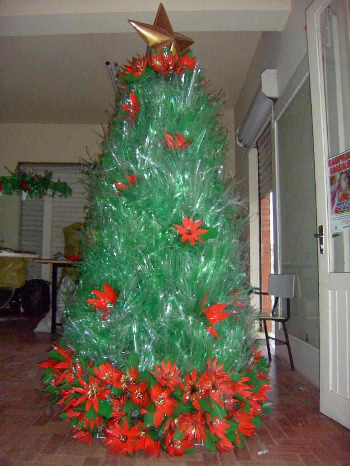 como fazer árvore natalina