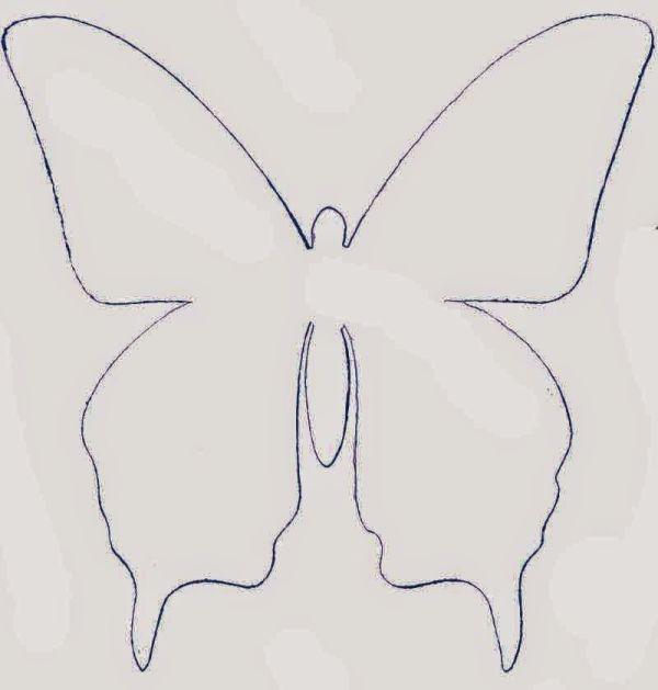 borboleta de papel tutorial