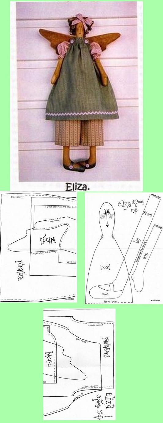 boneca de tecido tutorial